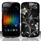 Hard Rubber Feel Design Case for Samsung Galaxy Nexus i515 - Midnight Garden