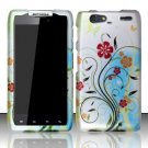 Hard Rubber Feel Design Case for Motorola Droid RAZR MAXX XT913/XT916 (Verizon) - Autumn Garden