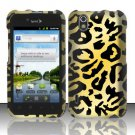 Hard Rubber Feel Design Case for LG Marquee LS855/Optimus Black (Sprint/Boost) - Cheetah