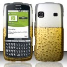 Hard Rubber Feel Design Case for Samsung Replenish M580 M580 - Beer Bubbles