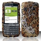 Hard Rhinestone Design Case for Samsung Replenish M580 M580 - Cheetah