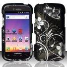 Hard Rubber Feel Design Case for Samsung Blaze 4G T769 - Midnight Garden