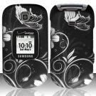 Hard Rubber Feel Design Case for Samsung Gusto 2 U365 (Verizon) - Midnight Garden