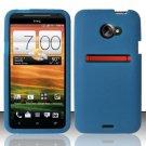 Soft Premium Silicone Case for HTC EVO 4G LTE (Sprint) - Blue