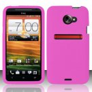 Soft Premium Silicone Case for HTC EVO 4G LTE (Sprint) - Pink