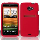 Soft Premium Silicone Case for HTC EVO 4G LTE (Sprint) - Red