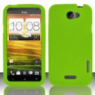 Soft Premium Silicone Case for HTC One X (AT&T) - Green