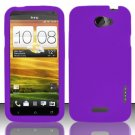 Soft Premium Silicone Case for HTC One X (AT&T) - Purple