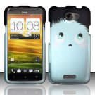 Hard Rubber Feel Design Case for HTC One X (AT&T) - Furry Pet