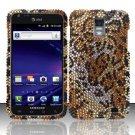 Hard Rhinestone Design Case for Samsung Galaxy S II Skyrocket i727 (AT&T) - Cheetah