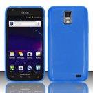 TPU Crystal Gel Case for Samsung Galaxy S II Skyrocket i727 (AT&T) - Blue