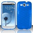 TPU Crystal Gel Case for Samsung Galaxy S3 III i9300 - Blue
