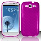 TPU Crystal Gel Case for Samsung Galaxy S3 III i9300 - Purple