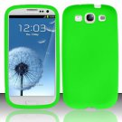 Soft Premium Silicone Case for Samsung Galaxy S3 III i9300 - Green