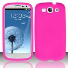 Soft Premium Silicone Case for Samsung Galaxy S3 III i9300 - Pink