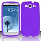 Soft Premium Silicone Case for Samsung Galaxy S3 III i9300 - Purple