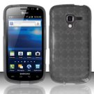 TPU Crystal Gel Case for Samsung Exhilarate i577 (AT&T) - Smoke