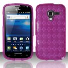 TPU Crystal Gel Case for Samsung Exhilarate i577 (AT&T) - Pink