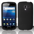 Soft Premium Silicone Case for Samsung Exhilarate i577 (AT&T) - Black