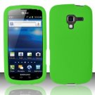 Soft Premium Silicone Case for Samsung Exhilarate i577 (AT&T) - Green