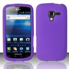 Soft Premium Silicone Case for Samsung Exhilarate i577 (AT&T) - Purple