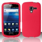 Soft Premium Silicone Case for Samsung Exhilarate i577 (AT&T) - Red