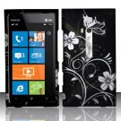 Hard Rubber Feel Design Case for Nokia Lumia 900 (AT&T) - Midnight Garden