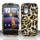Hard Rubber Feel Design Case for HTC Amaze 4G (T-Mobile) - Cheetah