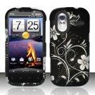 Hard Rubber Feel Design Case for HTC Amaze 4G (T-Mobile) - Midnight Garden