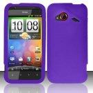 Soft Premium Silicone Case for HTC DROID Incredible 4G LTE (Verizon) - Purple
