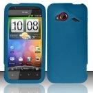 Soft Premium Silicone Case for HTC DROID Incredible 4G LTE (Verizon) - Blue