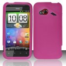Soft Premium Silicone Case for HTC DROID Incredible 4G LTE (Verizon) - Pink