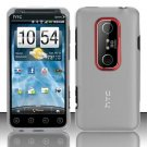 Hard Transparent Plastic Case for HTC EVO 3D (Sprint)