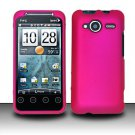 Hard Rubber Feel Plastic Case for HTC EVO Shift 4G - Pink