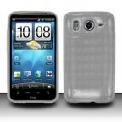 TPU Crystal Gel Case for HTC Inspire 4G/Desire HD - Clear