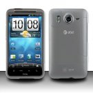 Hard Transparent Plastic Case for HTC Inspire 4G/Desire HD