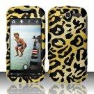 Hard Rubber Feel Design Case for HTC myTouch 4G (T-Mobile) - Cheetah