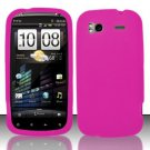 Soft Premium Silicone Case for HTC Sensation 4G (T-Mobile) - Pink