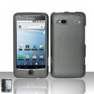 Hard Rubber Feel Design Case for HTC T-Mobile G2 - Carbon Fiber