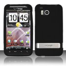 Soft Premium Silicone Case for HTC ThunderBolt 4G (Verizon) - Black