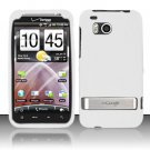 Soft Premium Silicone Case for HTC ThunderBolt 4G (Verizon) - White