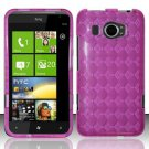 TPU Crystal Gel Case for HTC Titan II (AT&T) - Pink