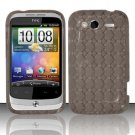 TPU Crystal Gel Case for HTC Wildfire S - Smoke