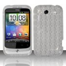 TPU Crystal Gel Case for HTC Wildfire S - Clear