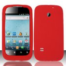 Soft Premium Silicone Case for Huawei Ascend II M865 - Red