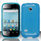 TPU Crystal Gel Case for Huawei Ascend II M865 - Blue