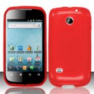 TPU Crystal Gel Case for Huawei Ascend II M865 - Red