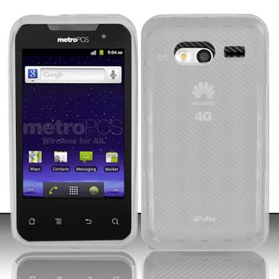TPU Crystal Gel Case for Huawei Activa 4G - Clear