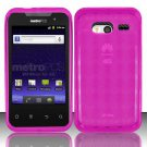 TPU Crystal Gel Case for Huawei Activa 4G - Pink