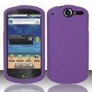 Hard Rubber Feel Plastic Case for Huawei Impulse 4G (T-Mobile) - Purple